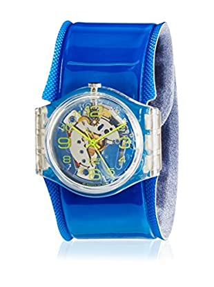 Swatch Reloj de cuarzo Blue Spring GK348D  34 mm