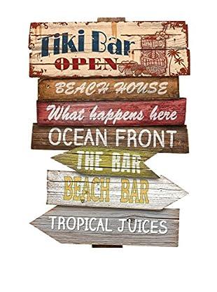 Really Nice Things Wandbild Signal Tiki Bar