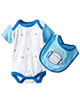 Bon Bebe Baby Boys Newborn Always Awesome Bib And Bodysuit Set By Bon Bebe