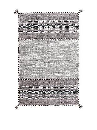 RugSense Alfombra Kilim Tribal Gris 230 x 160 cm