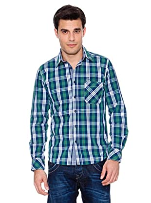 Pepe Jeans London Camisa Remi (Verde / Blanco)