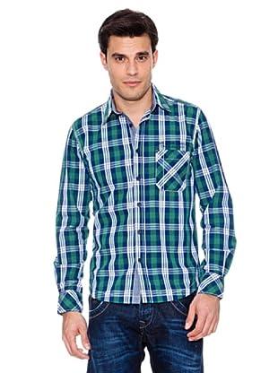 Pepe Jeans Hemd Remi (Grün/Weiß)