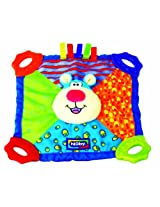 Nuby Plush Teether Blankie, Patterns May Vary (Discontinued by Manufacturer)