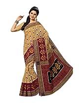 Triveni Blended Cotton Sarees (TSMRCC339_Beige)