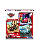 Frank Cars First Educational Puzzle Set - Red