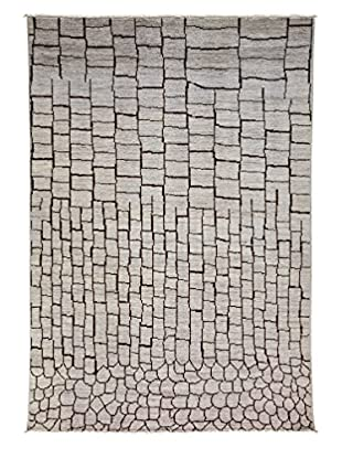 Solo Rugs Moroccan One-of-a-Kind Rug, Silver, 6' 2