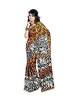 Patankarfab Art Silk Printed Sarees