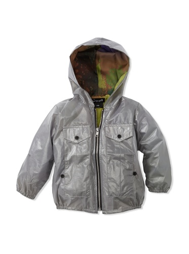 A for Apple Coco Raincoat (Grey)