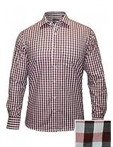 Peter England Light Pink Checks Shirt
