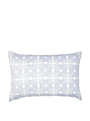 Image by Charlie Dynasty Decorative Pillow, Dream Blue/Off-White, 16