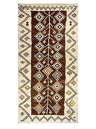 nuLOOM One-of-a-Kind Hand-Knotted Dawson Berber Shag Rug, Multi, 4' 11