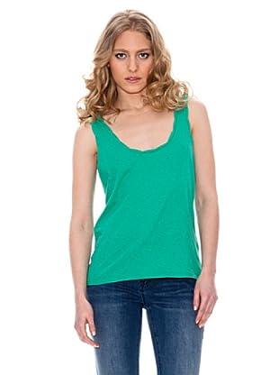 Springfield Camiseta Lazo Espalda (Verde)
