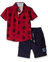 Little Kangaroos Baby Boys' Clothing Set (Pack of 2)