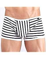 Xuba White & Black Stripes Boxer