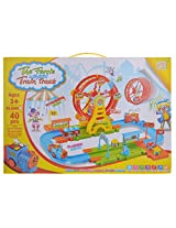 Smile Creations The Ferris Wheel Train Track 40 Pcs (8049, Multicolor)