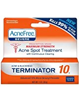 Acnefree Acne Free Terminator 10 Severe (3 Pack)