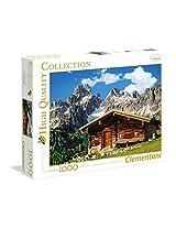 Clementoni Mountain Chalet Austria 1000 Piece Puzzle