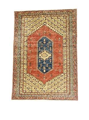 L'Eden del Tappeto Teppich Heibe' mehrfarbig 282t x t198 cm