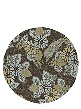 Kaleen Home & Porch Indoor/Outdoor Rug, Robin's Egg, 7' 9