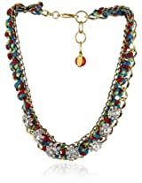 Adia by Adia Kibur Multi-Colored Crystal Necklace