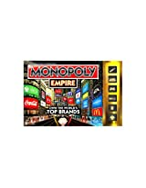 Monopoly Empire Game (Manufacturer Recommended Age: 8 Years And Up)(First To The Top Of Their Empire Tower Wins!)