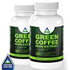 (2 Bottles) Life & Food Super Pure Green Coffee Bean Extract 800 Mg | 100% Pure And Natural W/ C...