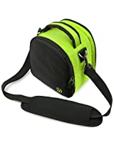 VanGoddy Laurel DSLR Camera Carrying Bag with Removable Shoulder Strap for Sony Alpha DSLR-A900 Digital SLR Camera (Neon Green)