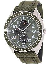 Citizen Eco-Drive Analog Green Dial Men's Watch AP4011-01W