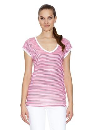Tommy Hilfiger Camiseta (Blanco / Rosa)