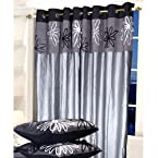 Eyda Black - Door Curtain