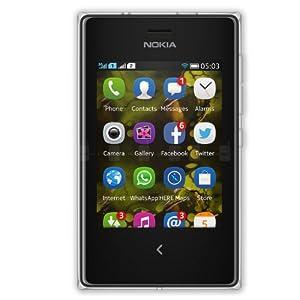 Nokia Asha 503 (Dual SIM, White)