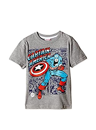 Marvel T-Shirt Manica Corta Captain America