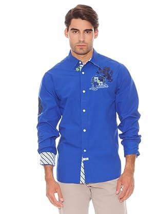 La Martina Camisa Otomi (Azul)