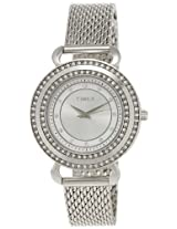 Timex Fashion Analog Silver Dial Women's Watch - T2P231