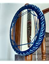 Uppsycled Recycled Tyre Mirror (Blue)