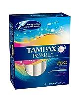 Tampax Pearl Plastic Regular Scented -18 Tampons