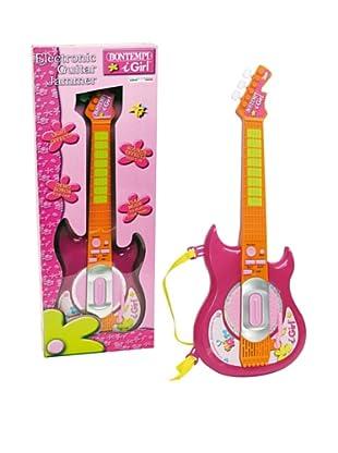 Musicales Bontempi Guitarra Electrónica rosa