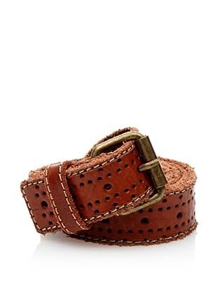 Cortefiel Cinturón Pantalon Perfora (Tostado)