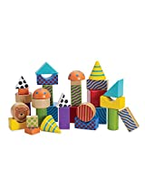 Manhattan Toy Create and Play Pattern Blocks