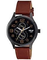 Helix Analogue Black Dial Men's Watch - TW003HG11