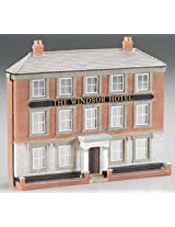 Bachmann Scene Scapes False Front Resin Building - Windsor Hotel - HO Scale