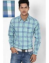 Green Casual Shirt Wrangler