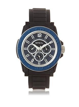 Breil Men's BREILM-TW0842 Black/Blue Rubber Watch