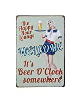 Imported 20x30cm Vintage Metal Tin Sign Plaque Wall Art Poster Cafe Bar Pub Beer #7