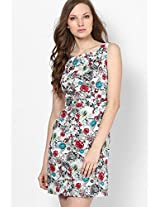 Multi Color Floral Shift Dress