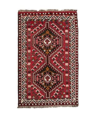 Navaei & Co Teppich Persian Shiraz rot/mehrfarbig 130 X 75 cm