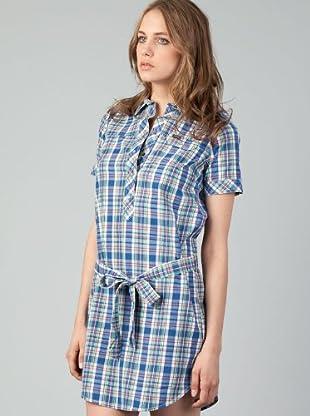 Lee Vestido Slim Fit (Azul)