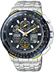 Citizen Eco Drive Skyhawk Blue Angels Mens Watch Jy0040 59L