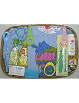 LOVE BABY BASKET NO 4 GIFT PACK BLUE BASKETNO 4 BLUE