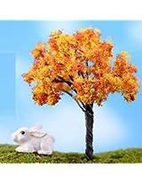 FD2189 Miniature Dollouse Garden Craft Fairy Bonsai Plant Decor ~Golden Tree~